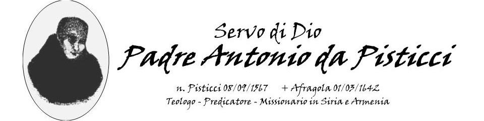 Padre Antonio da Pisticci
